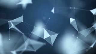 The abstract dotted grid. Loop animation. Slow motion