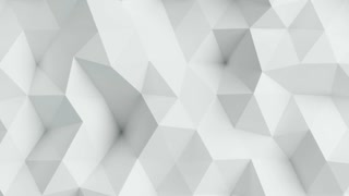 White seamless animated background loop