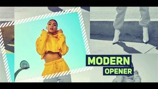 Modern Slideshow Opener