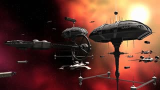 Armada space fleet