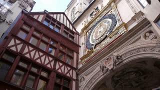 Astronomical clock in Rouen, Normandy France, PAN