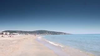 Beach at Cote D'Azur, France