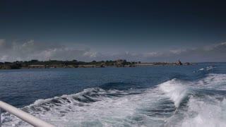 Boat trip around Ile de Brehat. Bretagne France