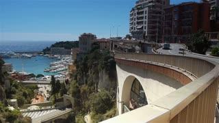 Cityscape of Monaco, Cote D'Azur France