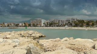 Coastline of Cote D'Azur France