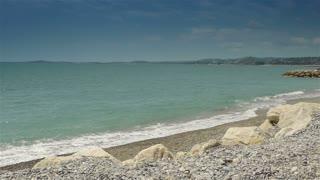 Coastline of Crocs de Gagnes, Cote D'Azur France
