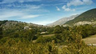 Col de Vence in Pre Alpes in South France