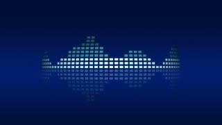 Dynamic atmospheric music VU meters. Seamless loop-able 4K