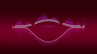Dynamic music VU meters. Red vintage. Seamless loop-able 4K
