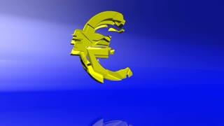 Euro crash animation