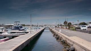 Harbour at mediterranean sea, south France