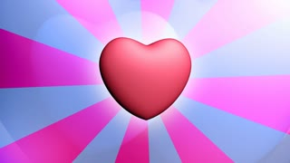Heart background seamless loop