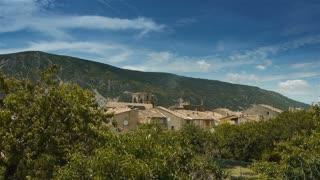 Little village in Pre Alpes in South France