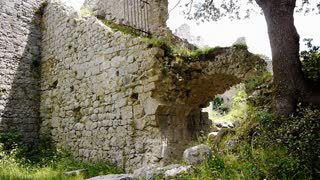 Old ruin of the Cathars