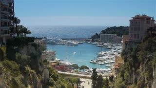 Panorama of Monaco, Cote D'Azur France