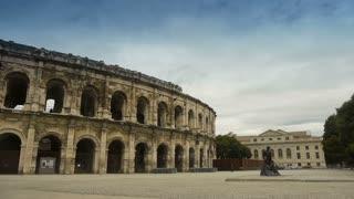 Roman Colosseum, Nimes France