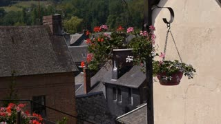 Romantic old village Cormeilles, Normandy France