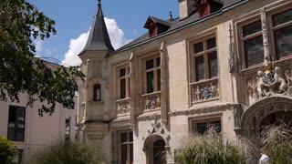 ROUEN, FRANCE, AUGUST 10, 2018: Historic Rouen. Normandy France