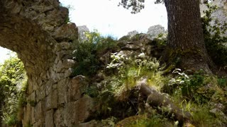Ruins of an old Cathars fortress