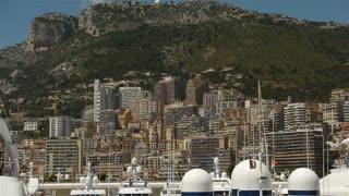 Skyline at Monaco, Cote D'Azur France