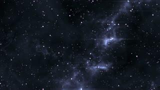 Space warp, futuristic timetravel to earth 4K