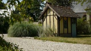 Timbered house and botanical garden