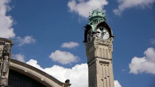 Tower of train station in Rouen, Normandy France, PAN