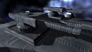 Turrets on a spaceship