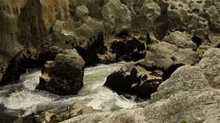 Wild water at Gorges L'Herault, France