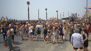 3 JUN 2016: the celebrate the annual gay pride parade in Tel Aviv