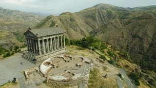 Ancient Garni Pagan Temple, the hellenistic temple in Republic of Armenia.