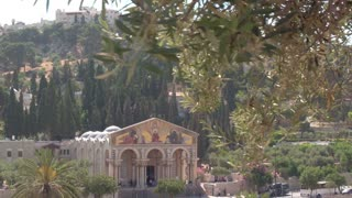 Church of All Nations located on the Mount of Olives, Israel