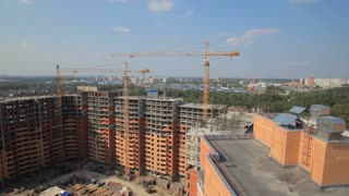 Construction of new Moscow. Verticals and perspectives new buildings