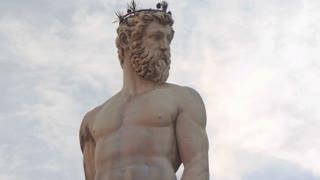 Neptune Statue, Piazza Della Signoria, Florence, Italy