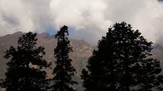 Stunning natural surroundings of the Himalayas