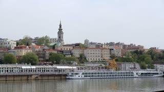 Amazing view of the Belgrade waterfront.