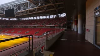 Spartak Otkritie Arena, The stadium that hosts the FIFA World Cup from the inside