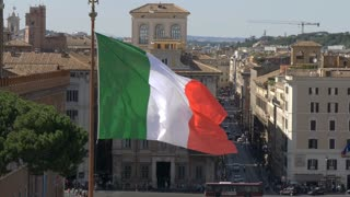 The national flag of Italy is a symbol of the unity of the country.