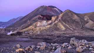Primal Earth Images 4 K Tongariro Crossing Sunrise Bevan Percival