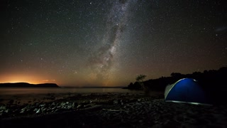 Primal Earth Images Camping Tent Night Milkyway Stars