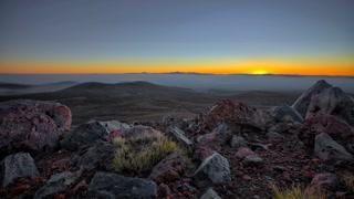 Primal Earth Images Desert Sunrise Tukino 4 K Stock