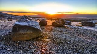 Primal Earth Images Desert Winter Sunrise 4 K Stock