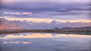 Primal Earth Images Lake Mountains Reflections Sunrise