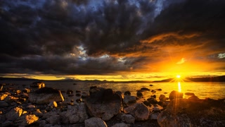 Primal Earth Images Lake Taupo Sunset