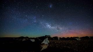 Primal Earth Images Milkyway Rising Desert Tukino