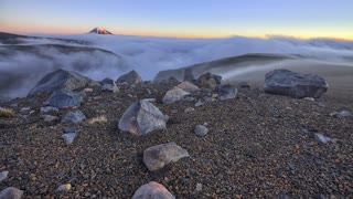 Primal Earth Images Mist Tukino Ski Field 4 K Stock