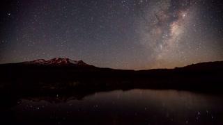 Primal Earth Images Mountain Milkyway Stars Tarn Night Scene
