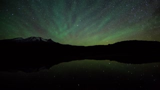 Primal Earth Images Mountains Night Stars Dramatic Green Air Glow Milyway