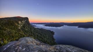 Primal Earth Images Panekire Bluff Sunrise 4 K Stock