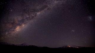 Primal Earth Images Ruapehu Winter Milkyway 4 K Stock Timelapse